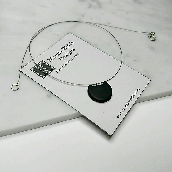 Black Kitten Necklace