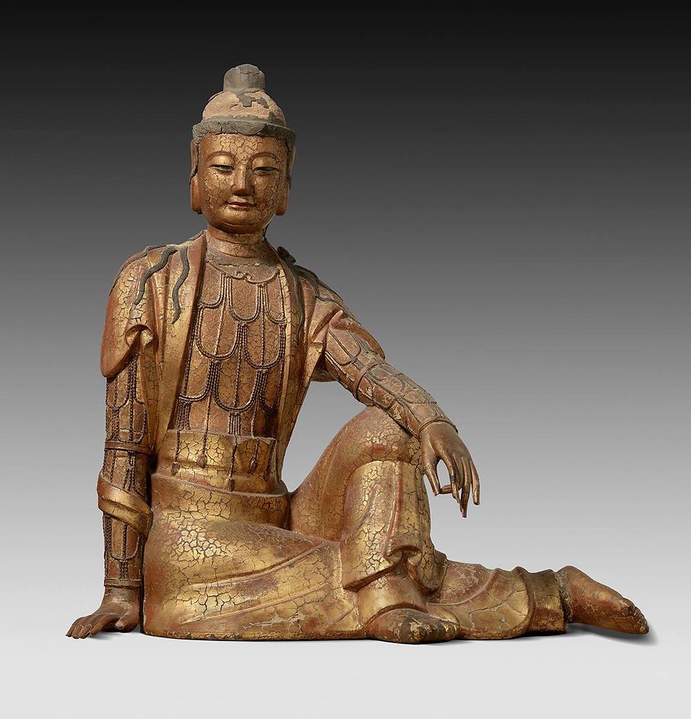 """Figure of Bhodisattva Guanyin"" at the Nelson-Atkins"