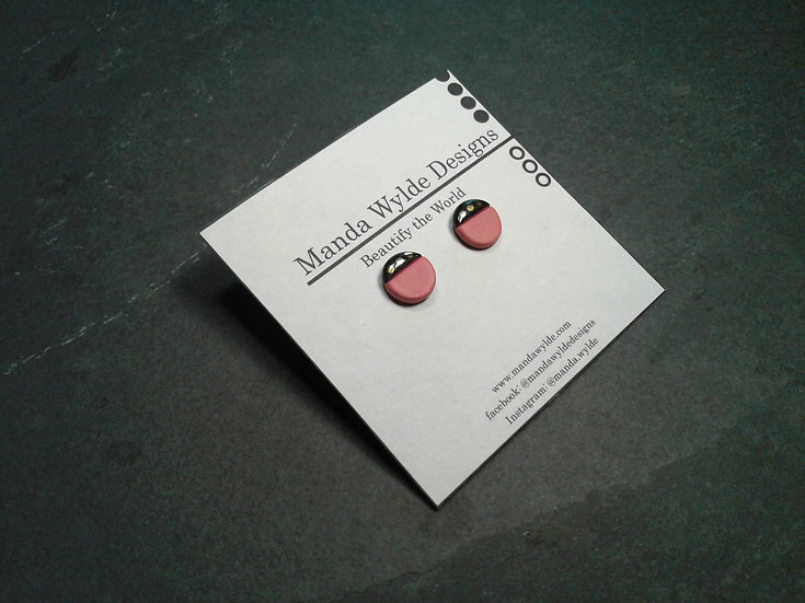 Red Collection Studs: Large