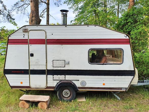 Mobile Sauna Wohnwagen