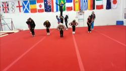 Practising a routine