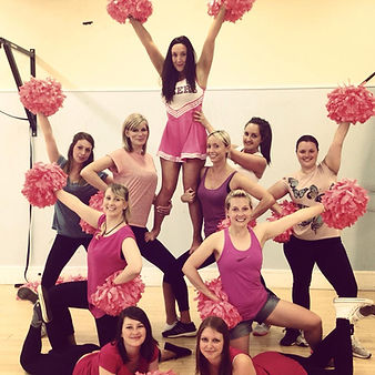 children cheerleading cheer party parties bucks high wycombe marlow berkshire oxfordshire