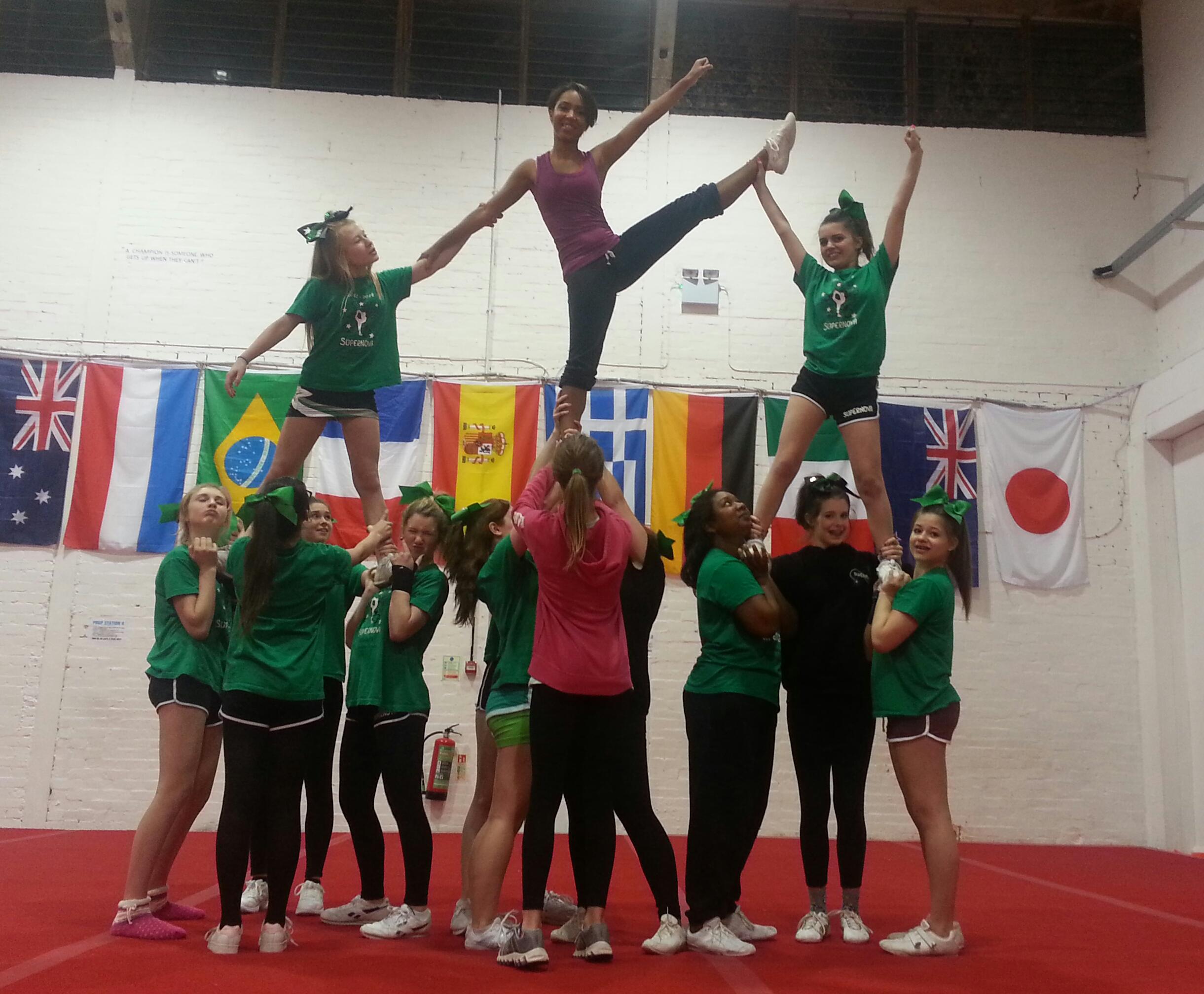 Heel stretch Pyramid