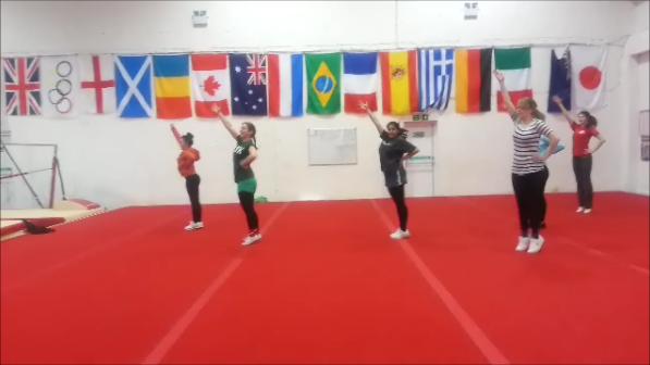 Practising jumps