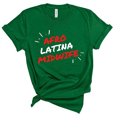 Afro Latina Midwife