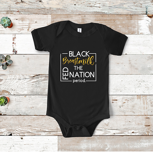 Black Breastmilk Fed the Nation Youth