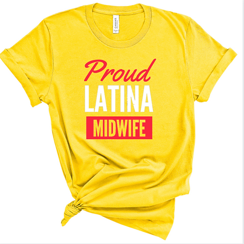 Proud Latina Midwife