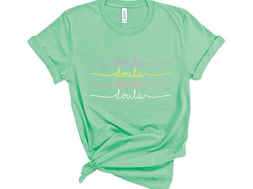 Doula-multicolored