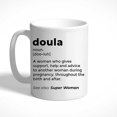Definition of a Doula Mug