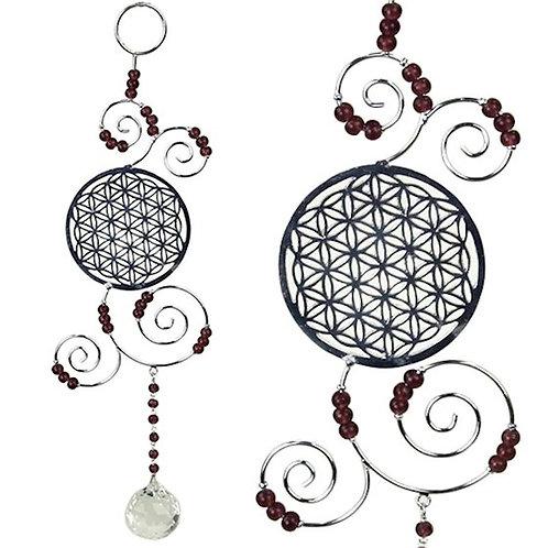 Feng Shui Dekorationshänger Blume des Lebens