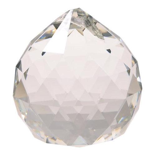 Regenbogen-Kristalle Kugel (4cm)