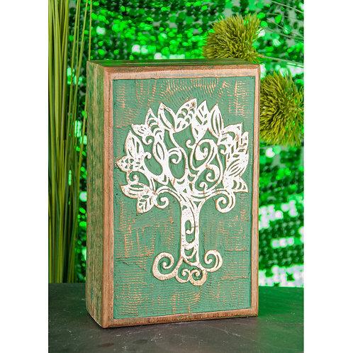 Keltischer Lebensbaum Holzbox