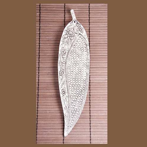 Blatt Design, Räucherstäbchenhalter Aluminium