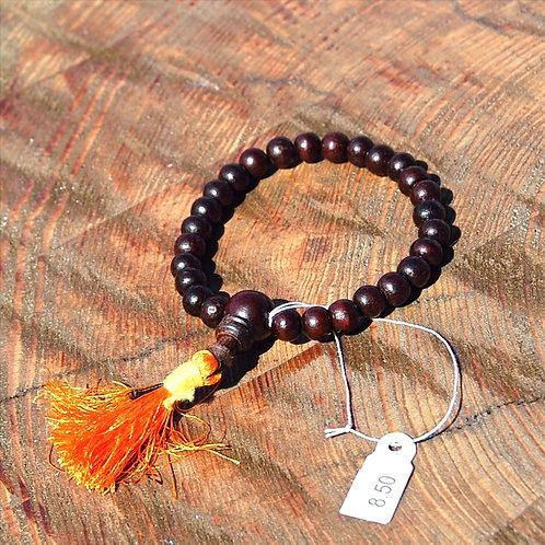Power-Bracelet, Rosenholz