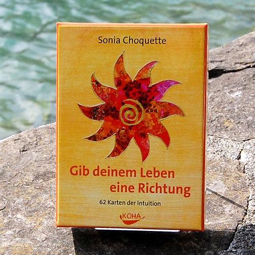 Gib deinem Leben eine Richtung, Kartenset, S. Choquette