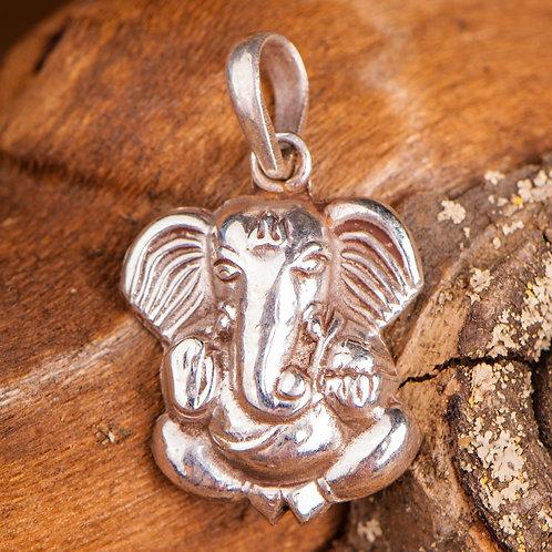Ganesha, Anhänger, 925 Silber