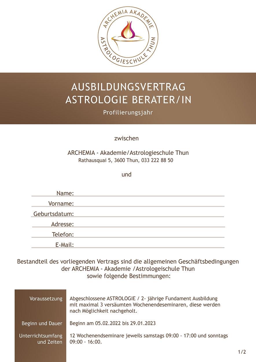 ASTROLOGIE BERATER/IN