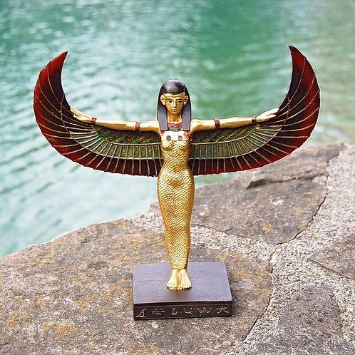 Isis, stehend, Polyresin, handbemalt ca. 23cm