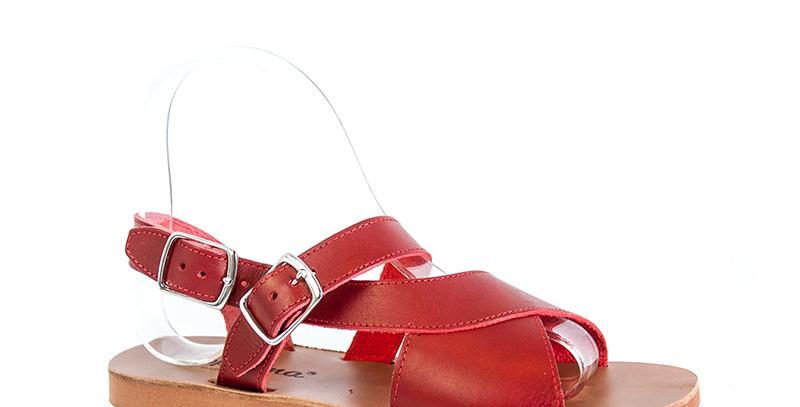 Sandaletto Artigianale in cuoio