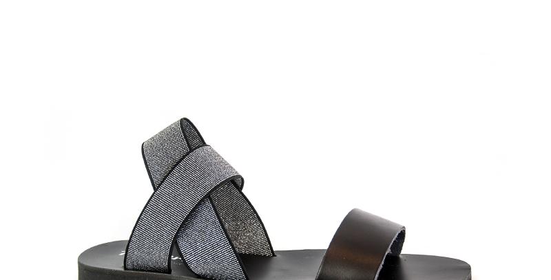 Sandalo Donna Con Elastico