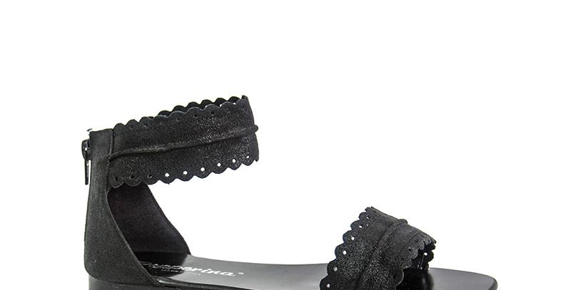 Sandalo Donna alla caviglia | Lombardia | Pepperina Shoes