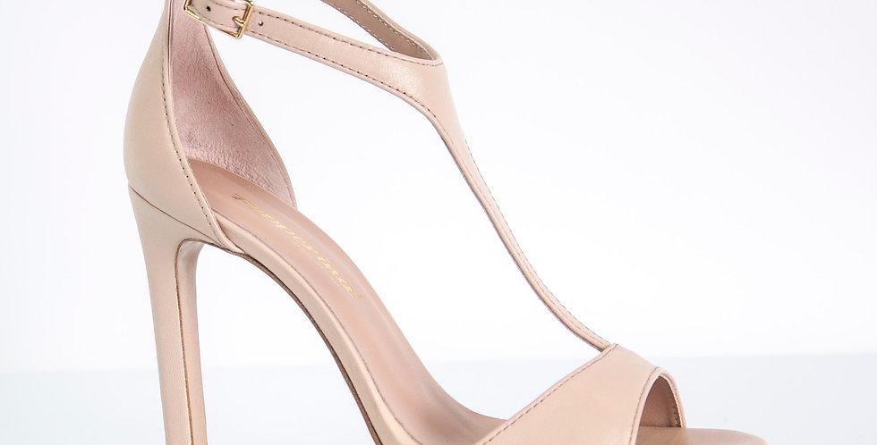 Sandalo Donna nappa Phard, tacco alto