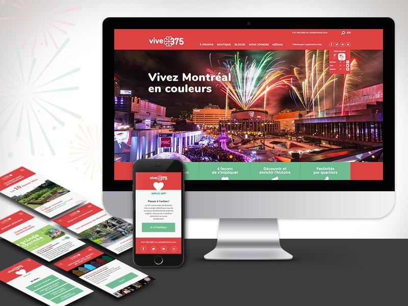 Refonte Site | Création App - Projet
