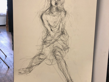 #DCArtModelCollective: Online Figure Drawing Sessions