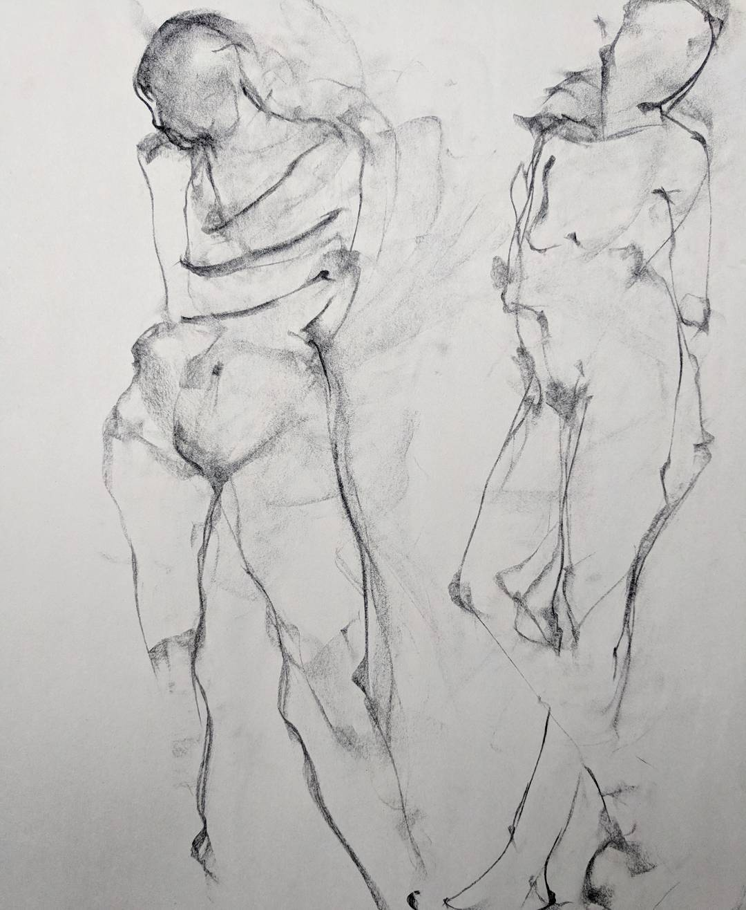08_2018_Workshop_Drawing Two Models_Dian