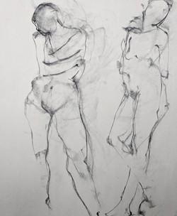 08_2018_Workshop_Drawing Two Models_Dian