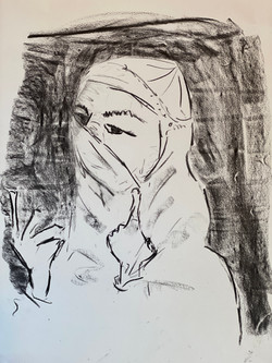 Amani Al-Ali-Expressive Portrait from Home 1