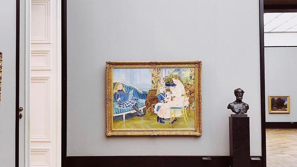 Looking at Paintings Together, Apart (6weeks/Online)