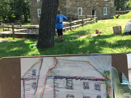 Art Barn Reunion and Landscape Meet Up at Peirce Mill