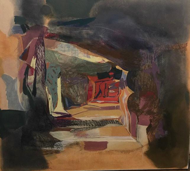 Joren Lindholm, UNTITLED, oil on canvas