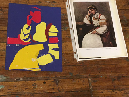 Values, gestures, and reality: art prompts inspired by Caravaggio and Bernini