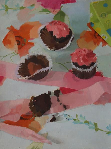 Still_life_with_cupcakes_oil_on_board_16