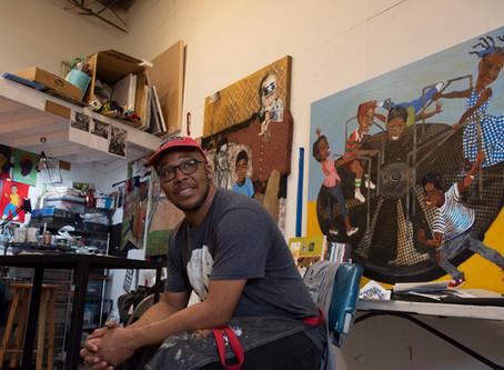 Free Artist Talk: Melvin Nesbitt Jr.