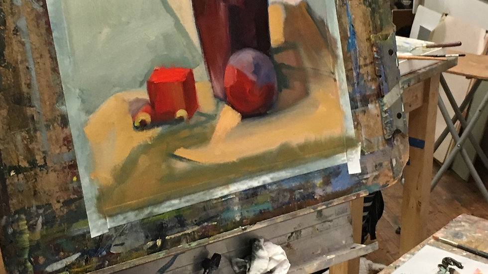 Intro to Painting: Vision and Skill (10weeks/Online)