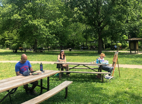 Spring Plein Air Drawing and Painting Meet Up