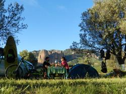 actividades en Aragon de camping