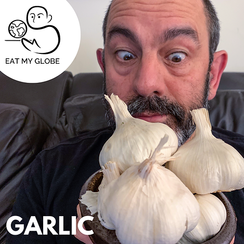 Garlic - EAT MY GLOBE by Simon Majumdar