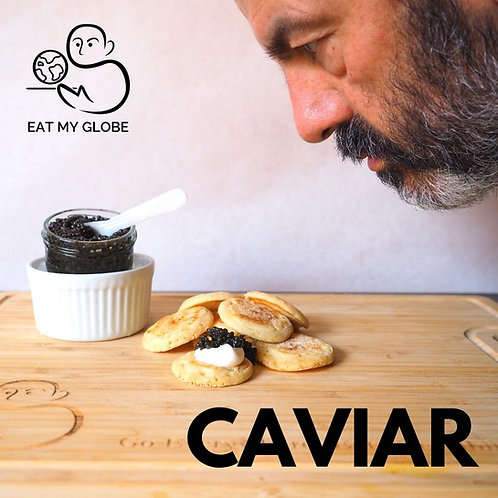 Caviar - EAT MY GLOBE by Simon Majumdar