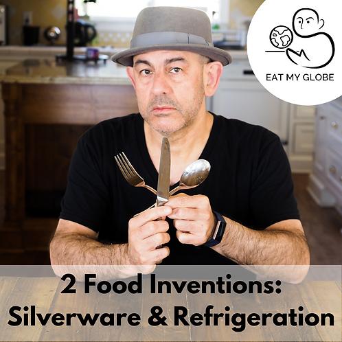 Food Inventions - EAT MY GLOBE by Simon Majumdar