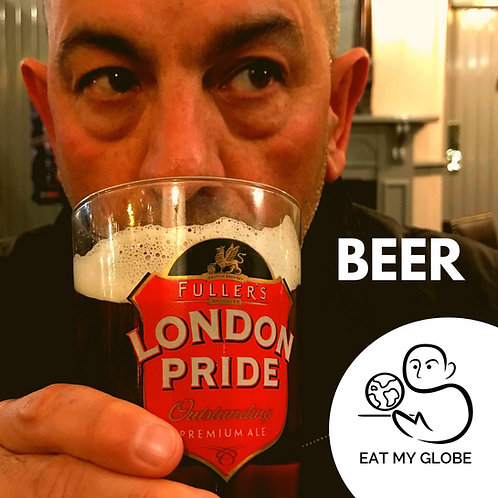 Beer - EAT MY GLOBE by Simon Majumdar