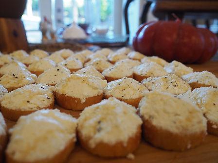Simon Majumdar's Ricotta Crostini Recipe