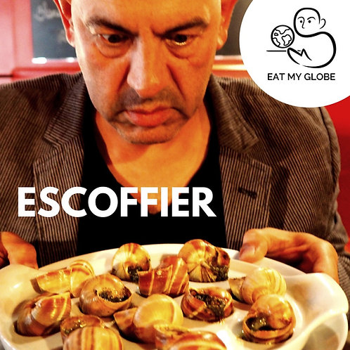 Escoffier - EAT MY GLOBE by Simon Majumdar