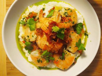 Simon Majumdar's Shrimp and Rice Grits Recipe