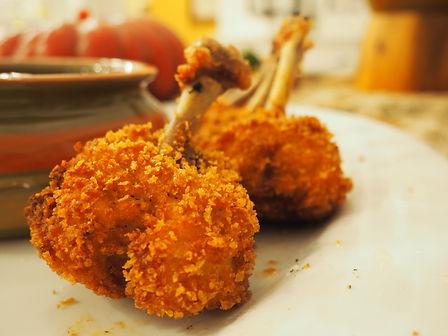 Simon Majumdar's Fried Chicken Wing Lollipops recipe
