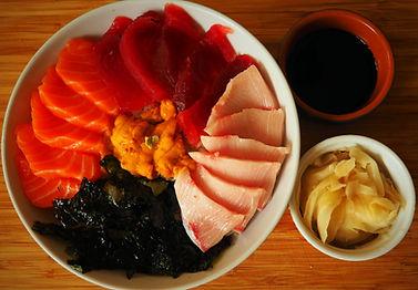 Chirashi Sushi by Simon Majumdar
