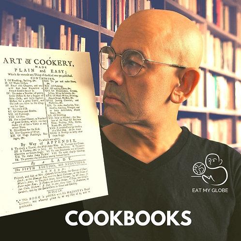 Cookbook - EAT MY GLOBE by Simon Majumdar